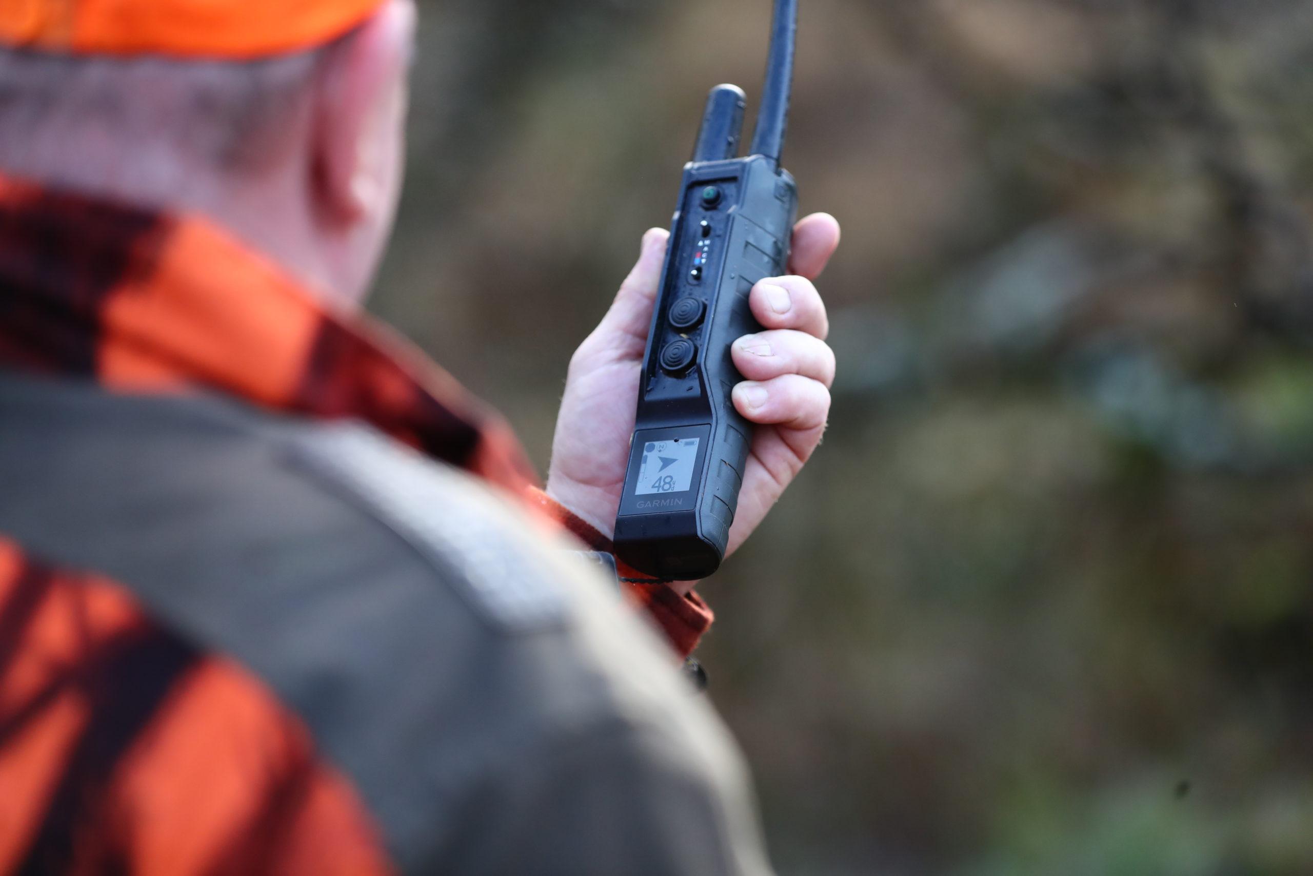 Essai du collier GPS Garmin Pro 550